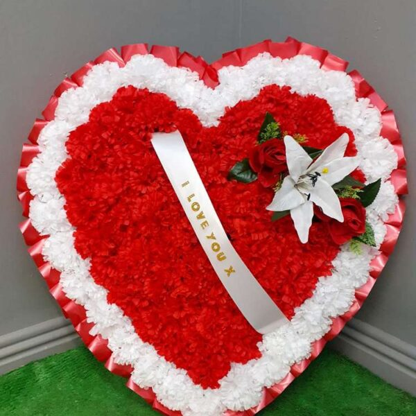Artificial Flower Funeral Arrangements