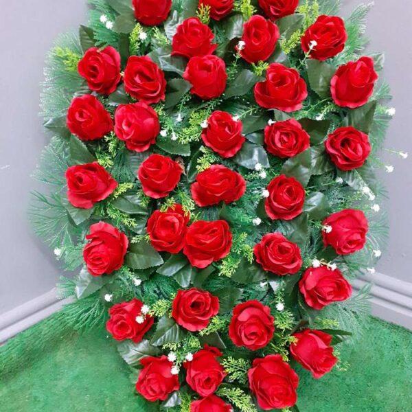 Artificial Flower Funeral Arrangements