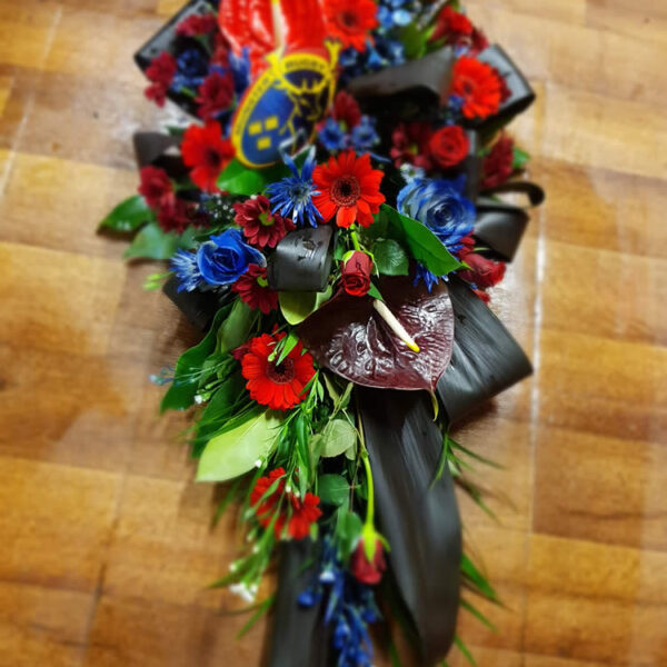 Fresh Flower Funeral Arrangements